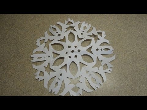 Snowflake video. Great for visual learners!
