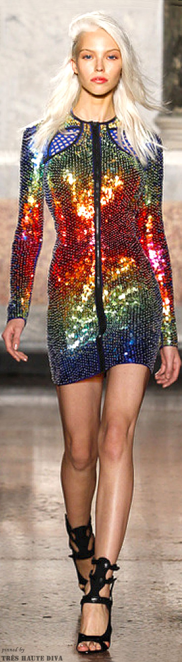 #this would make me feel like the mother of dragons..... Emilio Pucci Spring 2014 RTW