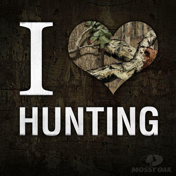 I love hunting. #mossyoak