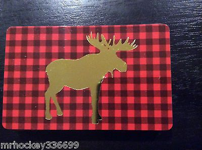 2014 Chapter Indigo Canada Holiday Abercrombie Moose Collectible Gift Card