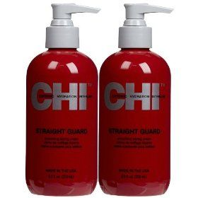 STRAIGHT GUARD SMOOTHING STYLING CREAM 8.5 oz By CHI HAIR PRODUCTS Styling Cream, (chi, chi silk infusion, flat iron, hair straightener, chi hair straightener, chi flat iron, conditioners, hair iron, hair products, defrizzer)