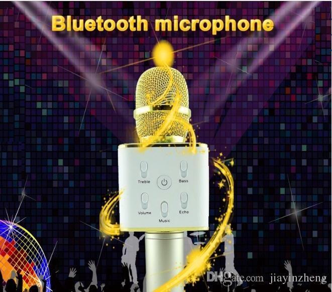 Bluetooth Sing Speakers Magic Karaoke  Microphone  Power Bank Mini Portable Wireless Microphones home KTV Singing Microphones #Affiliate