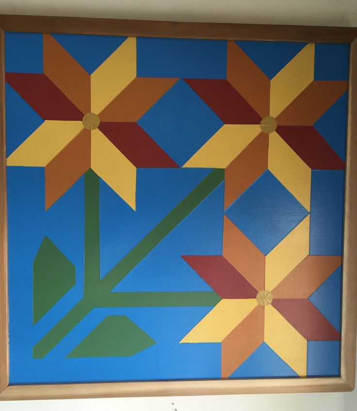 Carolina Lily By: Barn Quilts of Wabash County