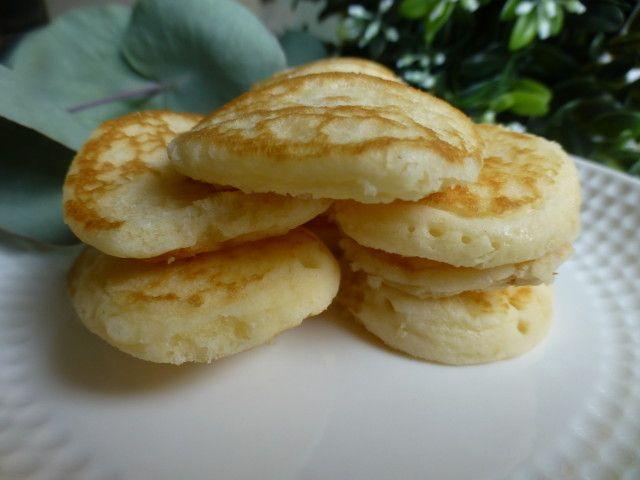 Masa de los Blinis Ver receta: http://www.mis-recetas.org/recetas/show/63901-masa-de-los-blinis