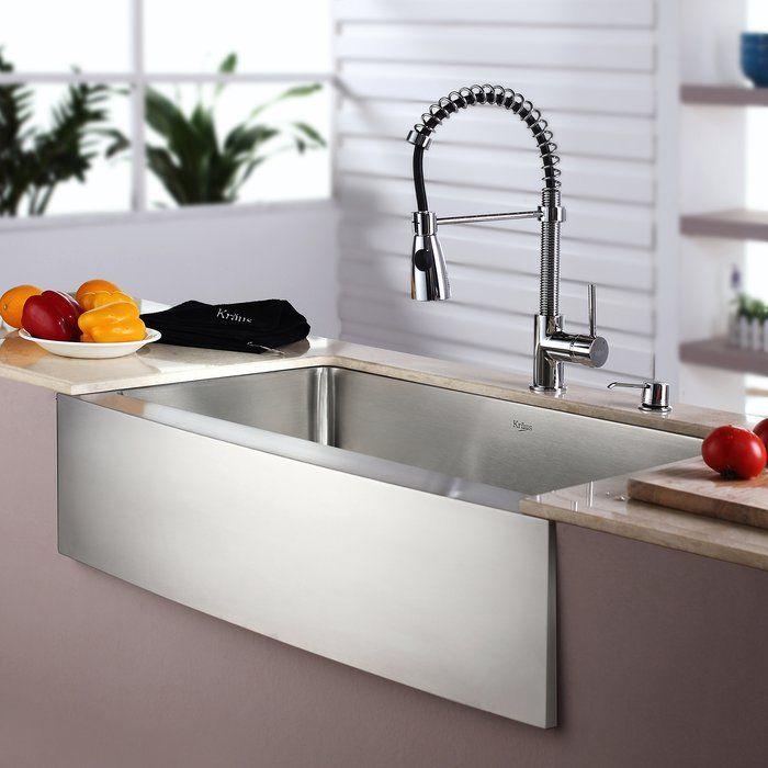 Best 25 stainless steel farmhouse sink ideas on pinterest - Kitchen sink saying ...
