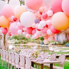 Gorgeous whimsical event balloons by Balloonzilla #eventplanning #mommytobe #babyshower #babyshowerideas