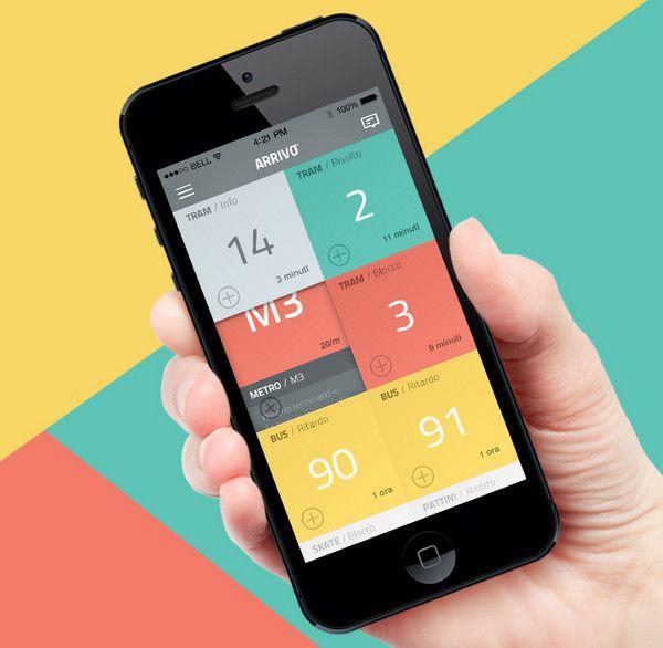 Arrivo Mobile App by Marco La Mantia & Simone Lippolis