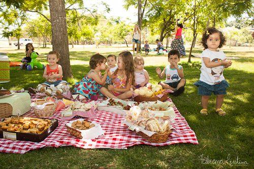 como preparar aniversário em picnic - Pesquisa Google