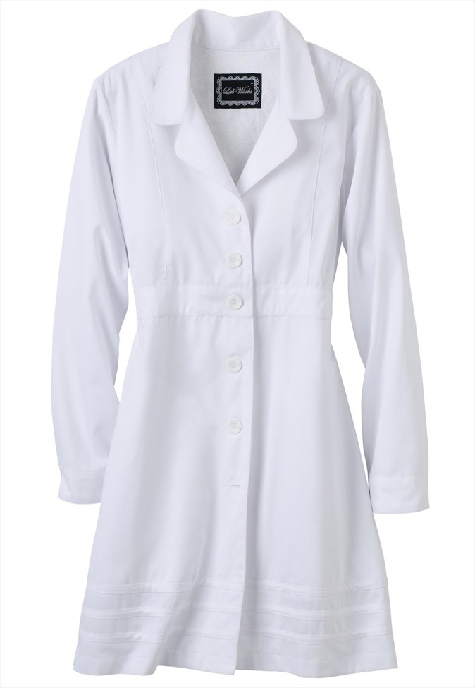 Scrub Works Lab Works Ladies Lab Coat.
