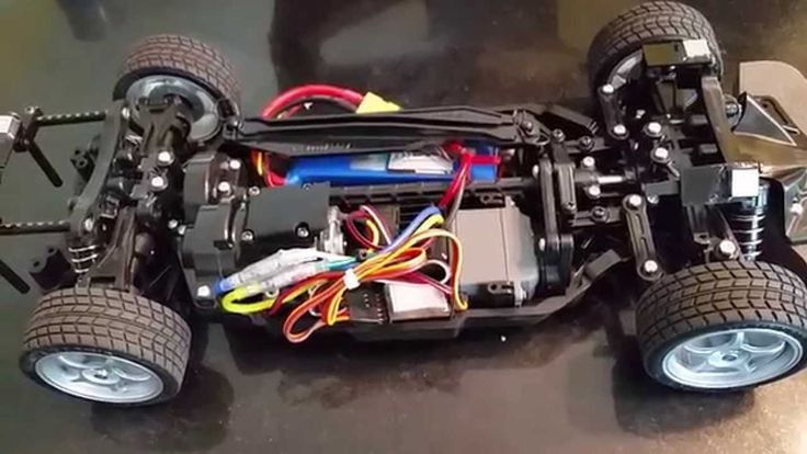 Overview of the Tamiya TT02 LaFerrari Chassis RC Kit