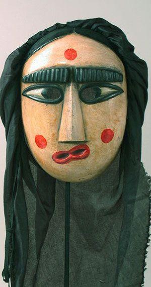 Korean Mask - Folk art mask from Korea