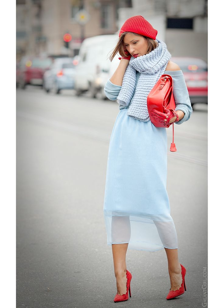 total blue outfit on GalantGirl.com