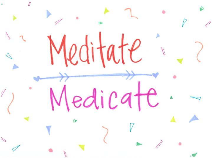 To medicate or meditate. What is your way to heal? Now on Etsy!