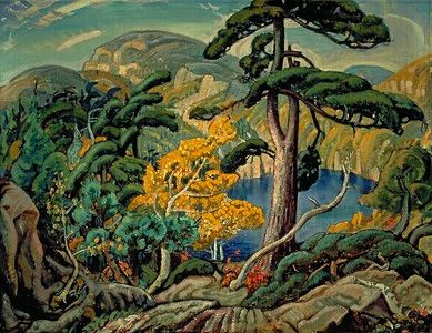 "The Group of Seven Arthur Lismer ""Bright Land"""