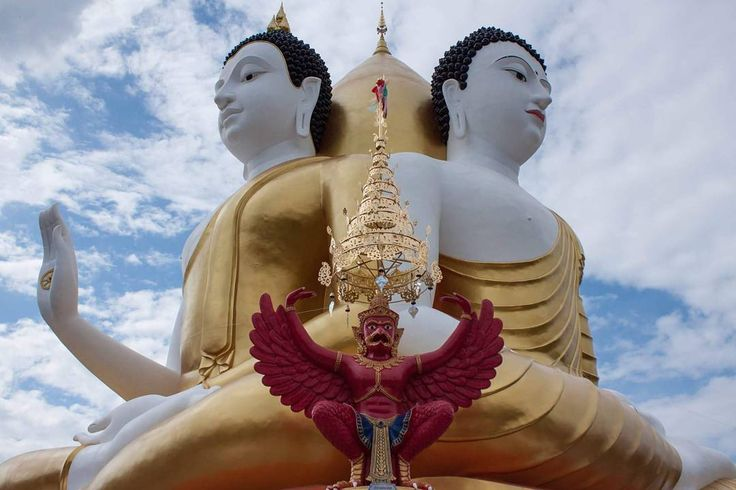 The coolest buddha temples