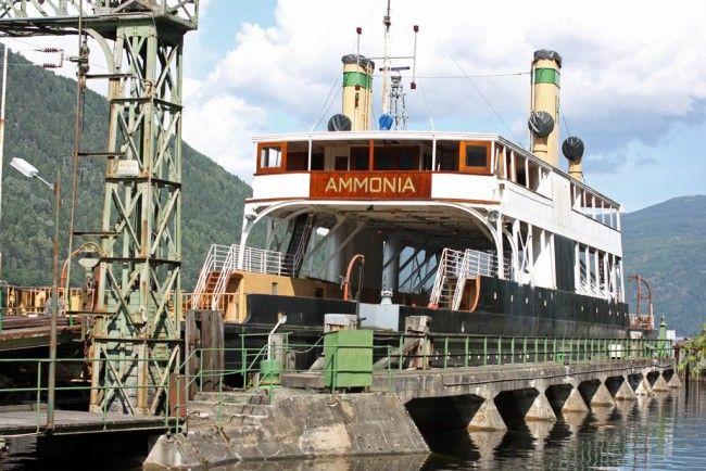 Ammonia, ferje i Rjukan