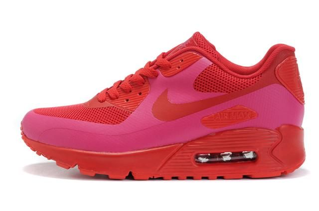 Only$74.79 NIKE AIR MAX 90 HYPERFUSE SOLAR RED Free Shipping!