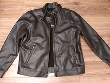 guess mens faux leather jacket in Fashion eBay