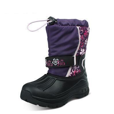 Round Toe Slip On Snow Boots | Furrple