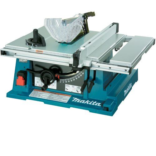 The machine has whole loading volume to grip greatest normally used fittings counting saw blade, influence source cord, miter device, rip barrier, impulse stick, pull, security guard, and panel blade. #best_portable_table_saw #scroll_saw_reviews #band_saw_reviews