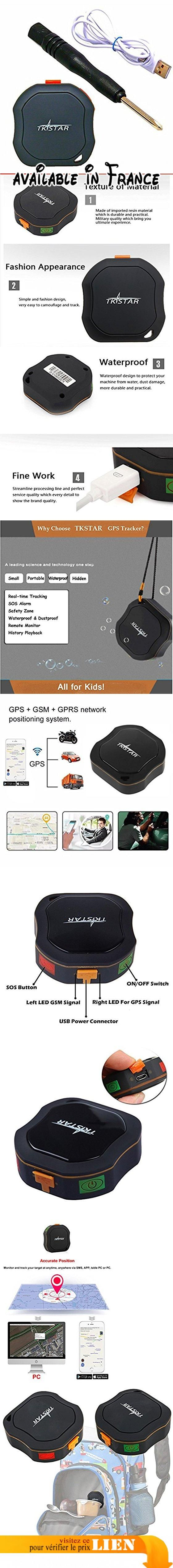 Mini Micro GPS Tracker Locator pour enfants Appareil de suivi des enfants GPS + GSM + LBS 5 jours en veille SOS Alarm Waterproof Auto Device. ✔Vérifiez l'emplacement des enfants perdus ou volés, des personnes âgées, des animaux domestiques, des véhicules (location de voitures, camions, moteurs, etc.). ✔Realtime Tracking-GSM / GPS positionnement en mode double, précision de positionnement jusqu'à 5 mètres.. ✔Régagement de puissance: durée maximale de 7 à 10
