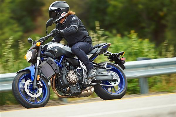 motorcycle review 2015 2016 yamaha fz-07 woman rider