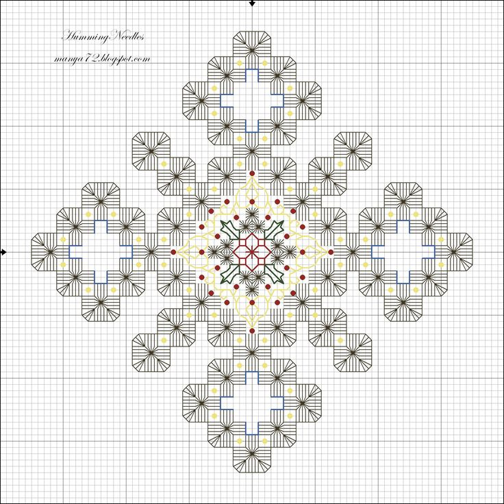 Humming Needles: Snowflake Ornament Pattern                                                                                                                                                                                 More