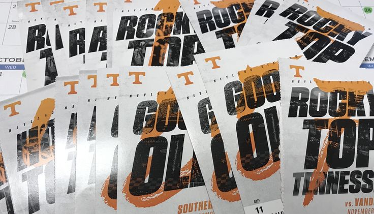 Tennessee Vols Football Tickets to all but one home game!!