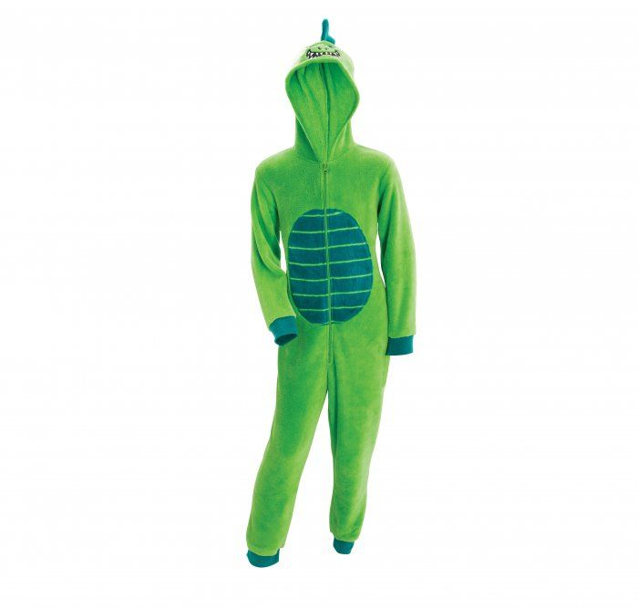 Even big monsters need to get out a bit. You'll look just the right side of scary in a green monster onesie 7-14 years.