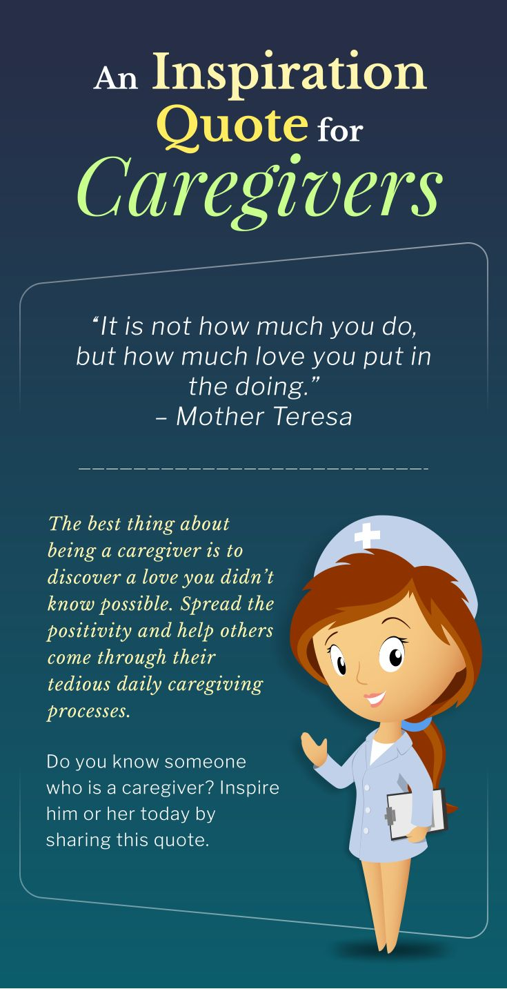 An Inspiration Quote for Caregivers inspirationalquotes
