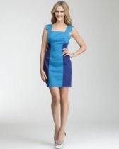 bebe Joy Colorblock Dress