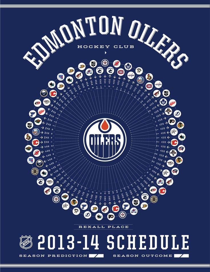 Edmonton Oilers 2013-14 Schedule