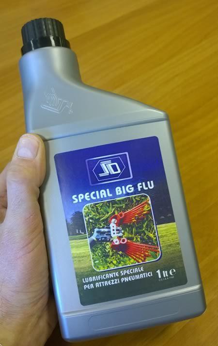 Olio per utensili pneumatici, lubrificante speciale per attrezzi aria compressa
