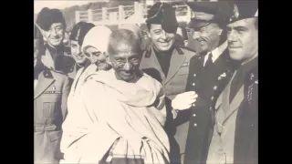 gandhi in italia - YouTube