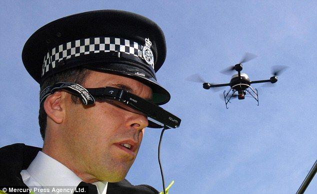 Law enforcement drone - @aviatrek https://twitter.com/aviatrek and on Pinterest - UAV Drone Group International https://www.pinterest.com/uavdronegroup/