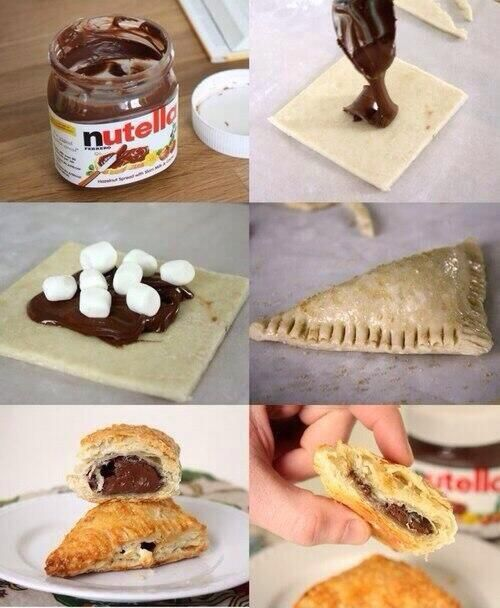 how to make nutella marchmallow