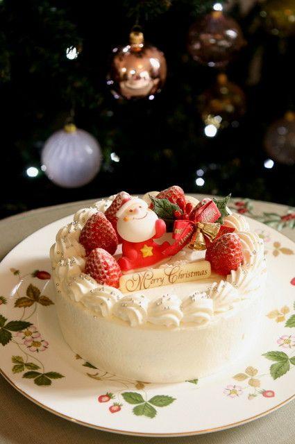 いちごのノエル(ホワイトクリーム) @ Le sucre cake salon (Japan) ♥