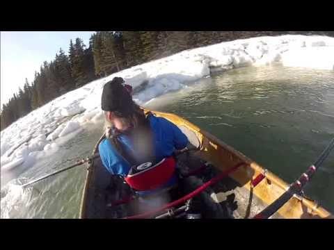 Vivez la course de canots à glace à Rimouski comme si vous y étiez!