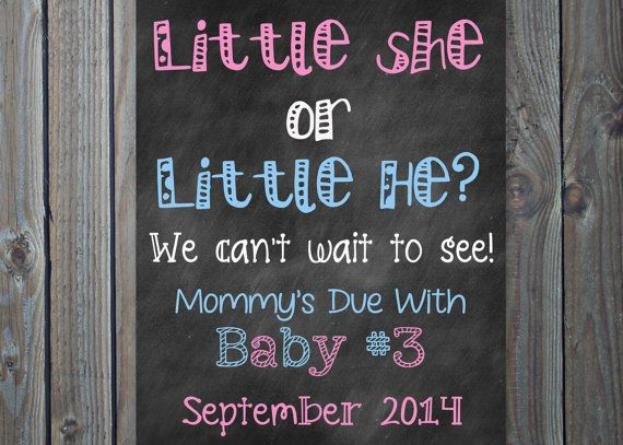 Printable Big Sister Big Brother // Pink or Blue// Pregnancy Baby 2 or 3 Announcement Photo Prop Sign