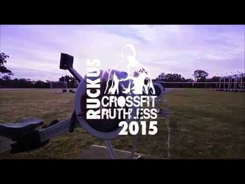 Bcaa Xtra Drink Event - Ruckus Ruthless CrossFit 2015 Australia
