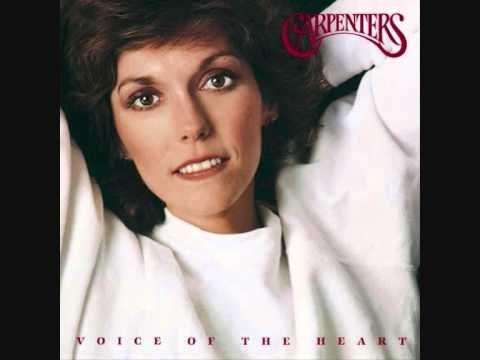 おはようございます。 今日2/4はカレン・カーペンターの命日。 今朝の一曲は、カレンが亡くなった1983年に、カレンの死後、発表されたカーペンターズの最後のアルバム「Voice of the Heart」から、そのラストに収められた曲「Look To Your Dreams」。 彼女が亡くなって34年。この低音で伸びのある美しい歌声を聴くと、 早く亡くなってしまったのが本当に残念。この曲の最後に聴こえてくるリチャードのピアノソロが美しく切ないですね。。。
