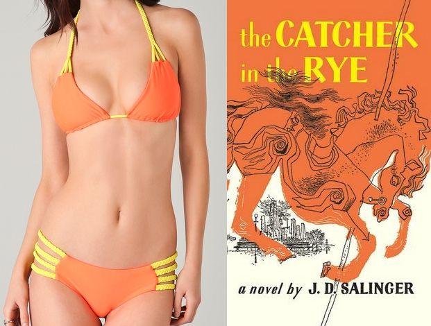 Forma de conjuntar un bikini con el libro que estás leyendo en la piscina, playa, etc.  #bikinis #retail #fusión
