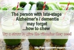 """How to help the person with """"end stage"""" dementia to eat - Alzheimers Support"""