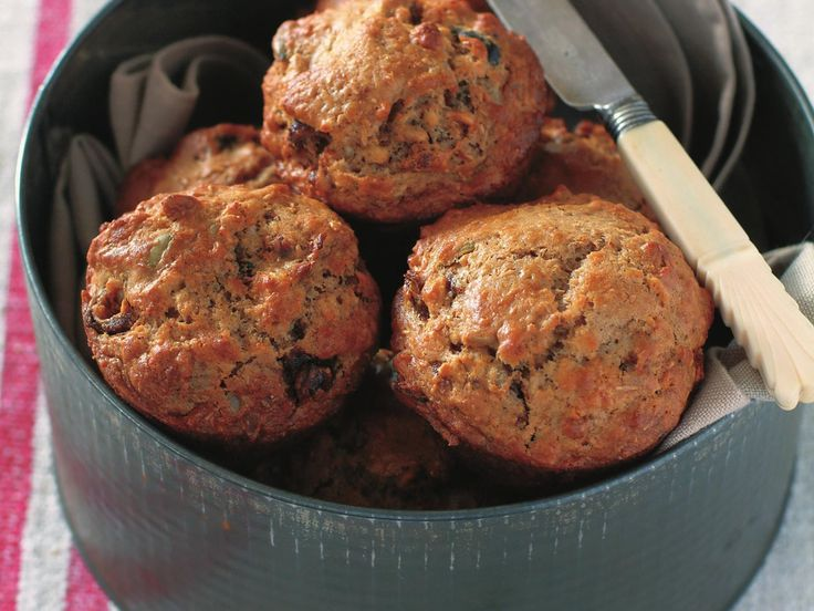 Overnight date and muesli muffins, dates recipe, brought to you by Australian Women's Weekly