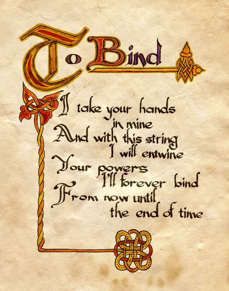 """Book of Shadows:  """"To Bind,"""" by Charmed-BOS, at deviantART."""