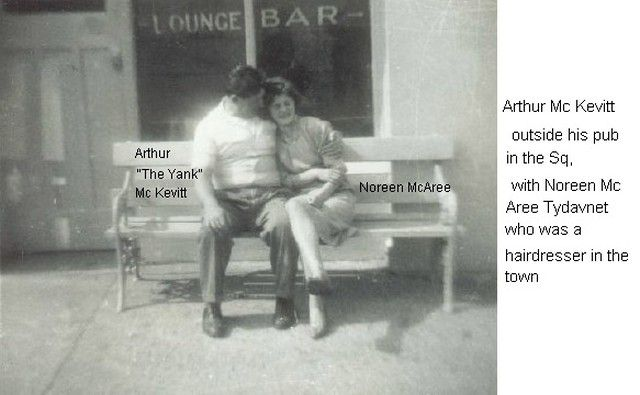 Mc Kevitt Arthur The yank