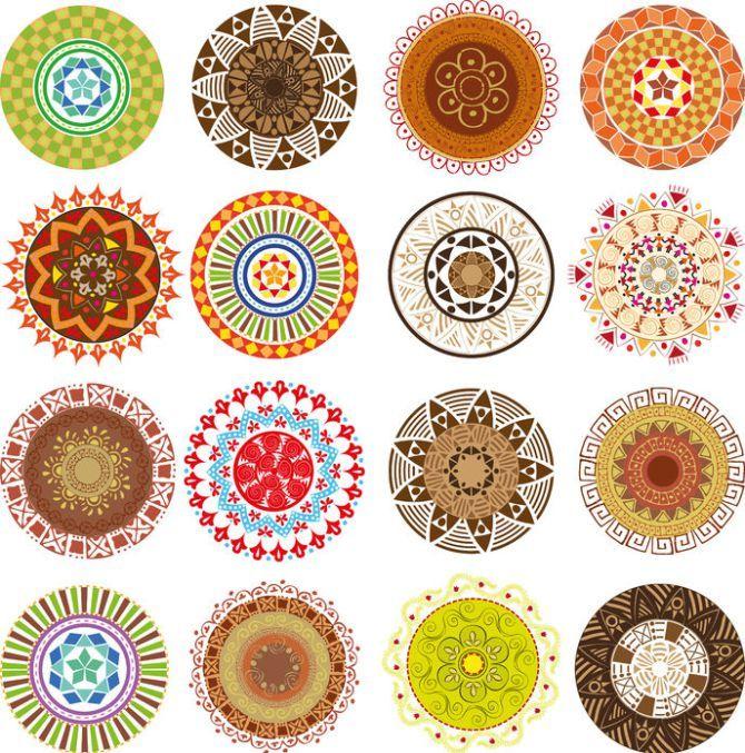 Los Mandalas. Su origen y cómo se usan para colorear. Y 200 listos para imprimir