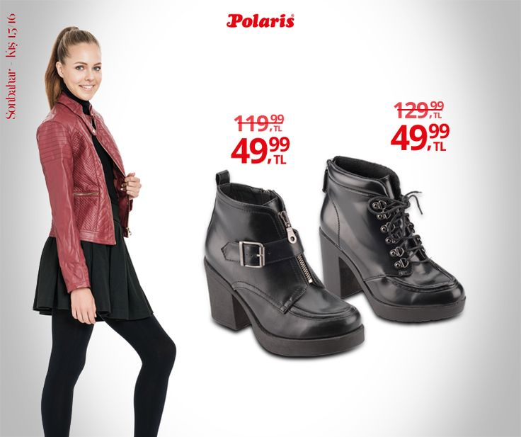 Platform tabanlı botlarla yükseliyoruz. #AW1516 #winter #kış #newseason #yenisezon #fashion #fashionable #style #stylish #polaris #polarisayakkabi #shoe #ayakkabı #shop #shopping #women #womenfashion #trend #moda #ayakkabıaşkı #shoeoftheday #bot
