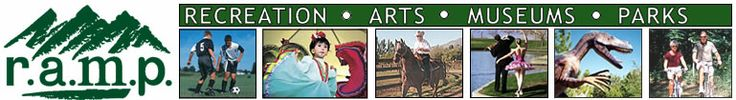 RAMP Summer Saturdays.  list of free family activities every Saturday throughout summer.  ogden nature center, roy recreation center, dinosaur park, etc.