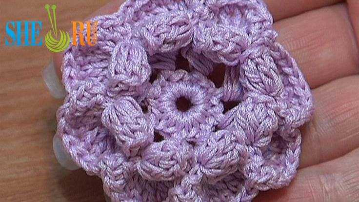 Crochet Flower Tutorial Sheru : 17 Best images about Crochet Flower Tutorials on Pinterest ...